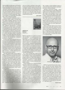 Magazín UNI - recenze Marek Toman